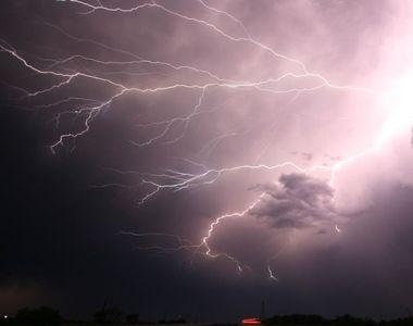 O nouă alertă meteo în România