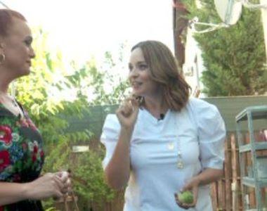 VIDEO - Casă de vedetă: Andreea Marin, în grădina ei de vară