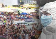 VIDEO - România, împărțită în două: Unii se luptă să supraviețuiască coronavirusului, în timp ce alții se prind în hore la mare