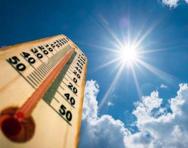 Vremea trece de la o extremă la alta. COD galben de caniculă: unde se ating 38 de grade...