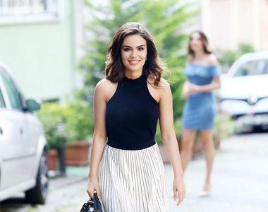 """Secretele frumuseții lui Özgü Kaya, partenera lui Keremcem din serialul """"Dragoste și..."""
