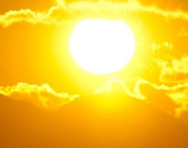 Urmează cea mai călduroasă zi din an: 39 de grade la umbră!