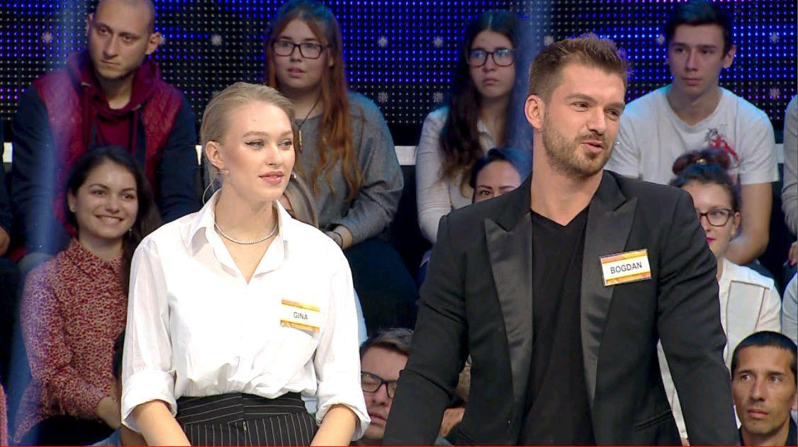 Gina Chirilă și Bogdan Vlădău