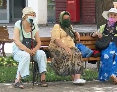 VIDEO|Probleme cu purtatul măștii pe stradă, în vreme de caniculă