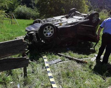 Grav accident în Bistrița. Opt persoane au fost rănite, dintre care trei copii