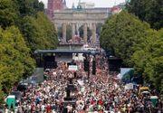 Manifestaţii violente la Berlin: 45 de poliţişti au fost răniţi