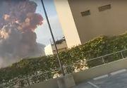 Explozie puternică în Beirut. Cel puțin 10 morți și mai multe clădiri afectate - VIDEO/UPDATE