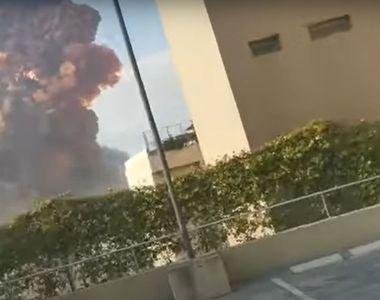 Explozie puternică în Beirut. Cel puțin 10 morți și mai multe clădiri afectate -...
