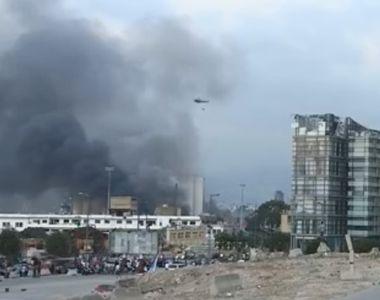 Reuniune de urgență după explozia din Beirut. A fost declarată zi de doliu - VIDEO