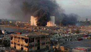 Un nou bilanț după exploziile din Beirut: cel puţin 73 de morți și 3.700 de răniți