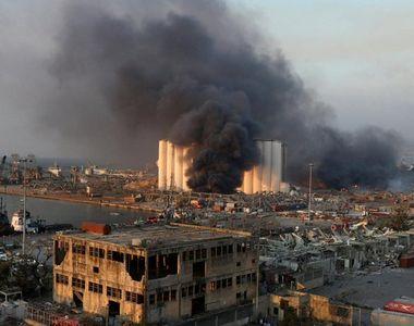Un nou bilanț după exploziile din Beirut: cel puţin 100 de morți și 4.000 de răniți...