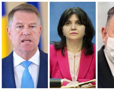 Zi decisivă pentru toți elevii. Klaus Iohannis și mai mulți miniștri stabilesc cum va...