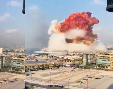 Explozia din Beirut, provocată de amoniul transportat de o navă din Moldova