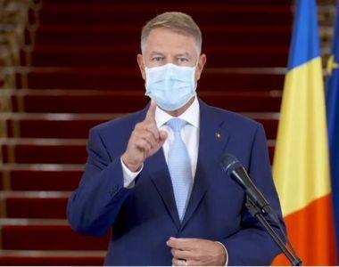 Klaus Iohannis, conferință de presă la ora 18.00. Cel mai așteptat răspuns din partea...