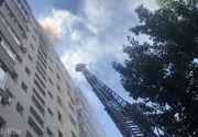 Incendiu devastator pe un bulevard important din București