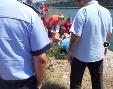 Caz șocant pe Dunăre. O mașină a plonjat direct în apă