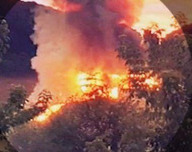 VIDEO | Zile de foc peste România