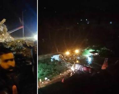 Un avion cu peste 180 de persoane s-a prăbușit la aterizare, în India. Dezastrul a fost...