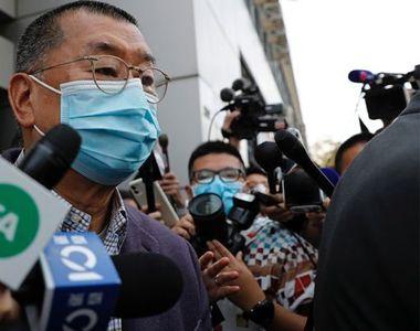 Mogul de presă, arestat. Hong Kong, pe un butoi cu pulbere
