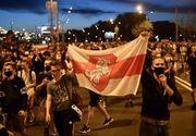 """Proteste masive în """"ultima dictatură din Europa"""". Poliția a folosit gaze lacrimogene și tunuri cu apă - VIDEO"""