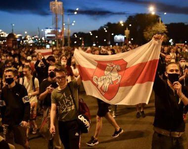 """Proteste masive în """"ultima dictatură din Europa"""". Poliția a folosit gaze lacrimogene și..."""