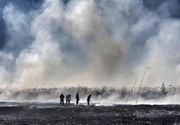 Ministrul Mediului, intervenție de urgență după incendiul din Periș - VIDEO