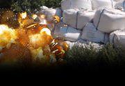 VIDEO | Bombă cu ceas lângă Galaţi