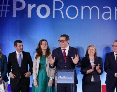 Pro România anunţă că parlamentarii formaţiunii vor vota moţiunea de cenzură