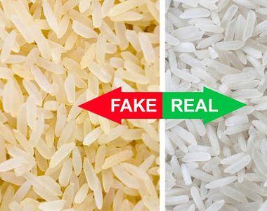 Cum deosebeşti orezul din plastic de orezul natural. Metoda care nu dă greș