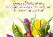 Mesaje de Sfânta Maria 2020. Felicitări şi urări cu La mulţi ani