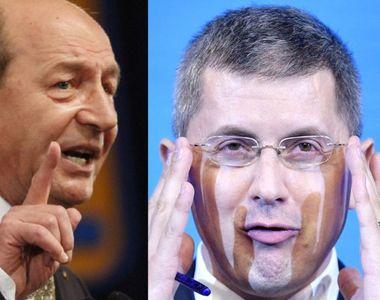 """Replici acide între Băsescu și Barna: """"Nu-l vrea pe Nicușor Dan câștigător"""" / """"O ajută..."""