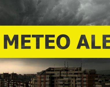 Prognoză meteo. 19 județe sub avertizare Cod galben de furtuni. Prognoză specială...