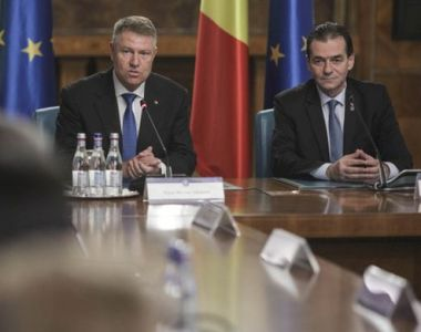 Întâlnire de urgență la Cotroceni. Iohannis discută cu Orban și Cîțu despre banii...