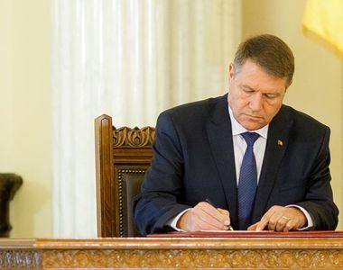 Iohannis a promulgat legea! Pedepse cu închisoare de la trei luni la un