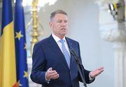 """Klaus Iohannis, declaraţii de ultimă oră: """"Avem un record total nedorit"""""""