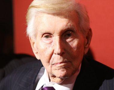 O mare personalitate din media s-a stins din viață la impresionanta vârstă de 97 de ani