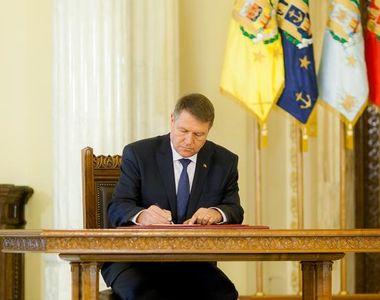 Klaus Iohannis a promulgat legea. Ce nu se mai poate face în următorii doi ani