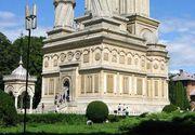 Măsuri speciale la Mănăstirea Curtea de Argeş, cu ocazia ceremoniilor organizate de Sfânta Maria