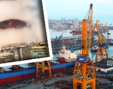 VIDEO - Bombă cu ceas în Portul Contanța: O cantitate uriașă de azotat de amoniu