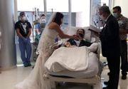 El este bolnavul COVID-19 care s-a căsătorit în spital