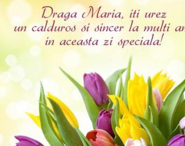 Mesaje, felicitări şi urări de Sf. Maria: La mulţi ani, Maria, Marian, Marina, Marin,...
