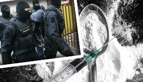 VIDEO - Alte trei clanuri au fost săltate din București:  Indivizii sunt acuzați că făceau trafic cu heroină