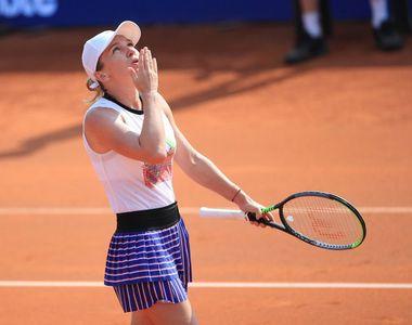 Simona Halep și-a spulberat adversara și s-a calificat în semifinale la Praga
