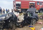Accident teribil pe DN2. Un copil a fost grav rănit