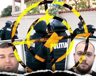VIDEO - Clanul Duduianu, sub asediul polițiștilor: Doi dintre interlopi au fost dați în...
