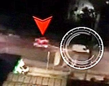 VIDEO - Urmărire ca în filme la Arad, cu focuri de armă