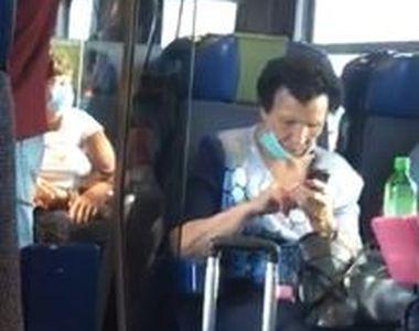 Regulile autorităților au fost date uitării. Pasagerii unui tren de călători, surprinși...