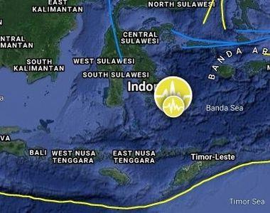 Cutremur puternic în Indonezia. Panică în mai multe orașe