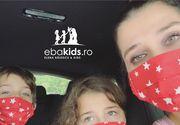 Afacerea cu haine pentru copii a Elenei Băsescu este un eșec! EBA a început să vândă măști de protecție pentru a se redresa!