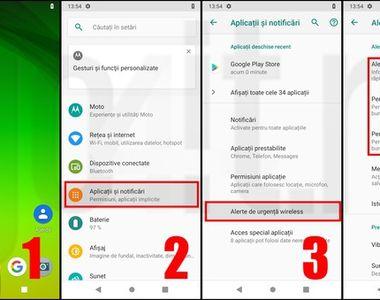Cum dezactivezi sistemul RO-Alert de pe telefoanele iOS și Android